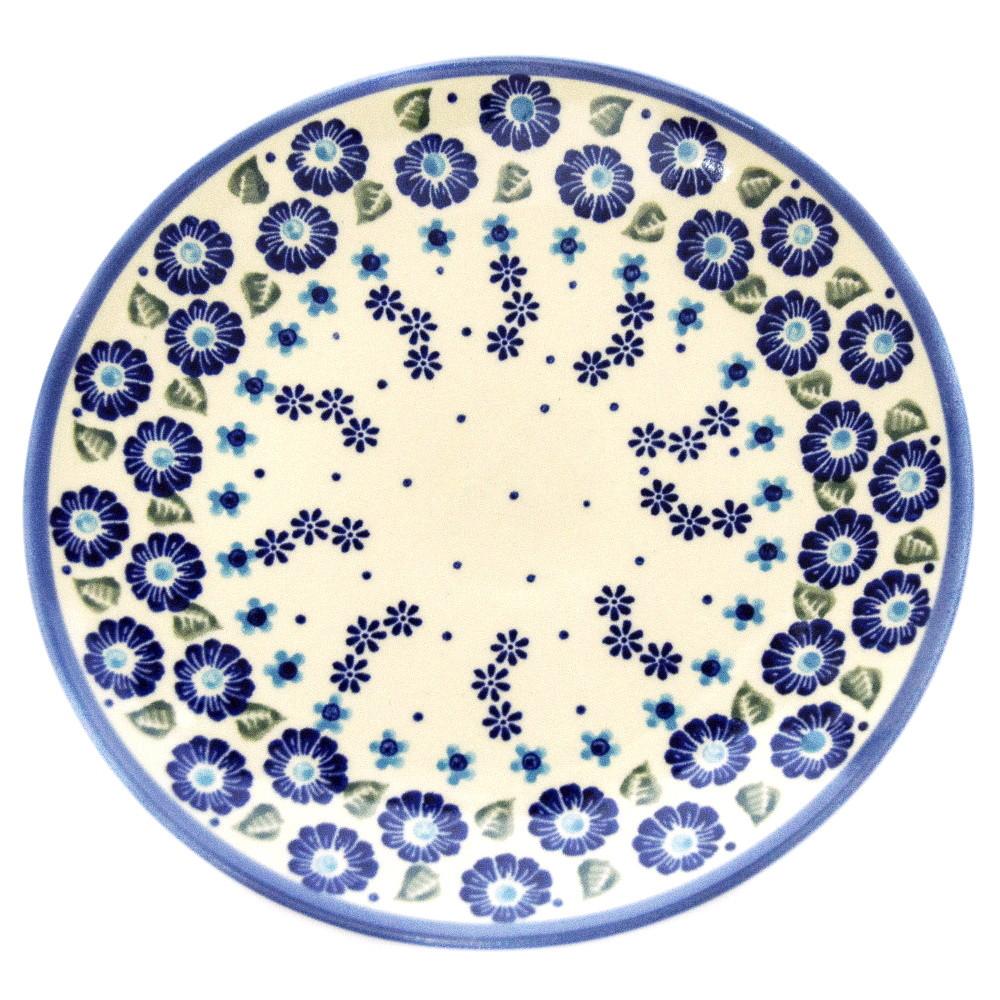 Тарелка десертная, закусочная керамическая Ø19 Blue Wind