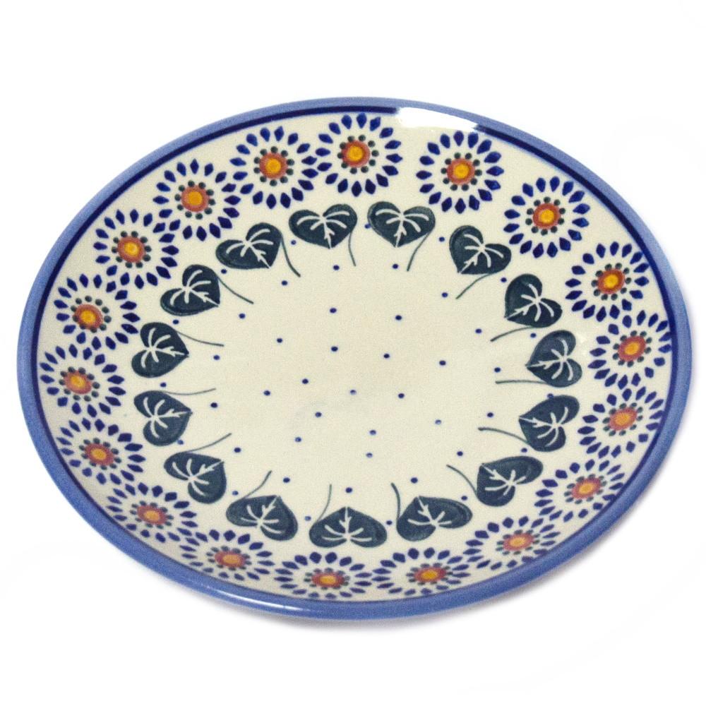 Тарелка десертная, закусочная керамическая Ø19 Asters