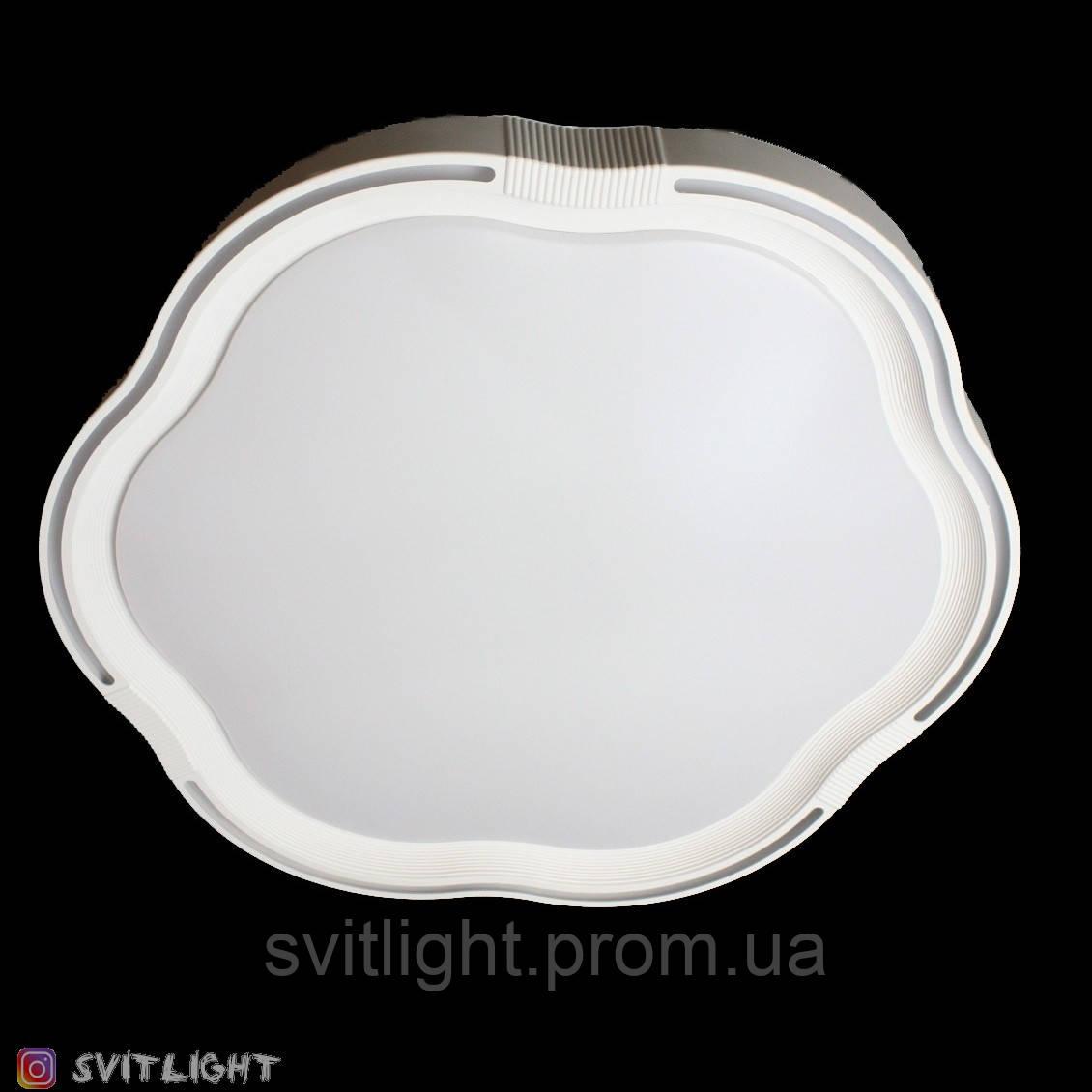 Светодиодная люстра трехцветная 2207-c/24w Svitlight