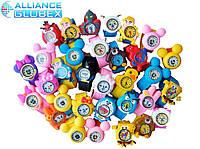 Часы детские кварцевые наручные силиконовые с героями мультфильмов и комиксов стильные  самые низкие цены