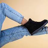 Угги женские замшевые черного цвета, фото 6