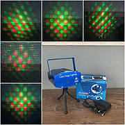 Лазерный проектор Atlanfa W001 новогодний для рождества квартиры комнаты дома дискотеки домашний лазер