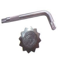 """Ключ Г-образный SPLINE M10 """"KING ROY"""" (30160-М10) 12 граней   (5шт/уп)"""