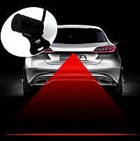 Лазерный проэктор  Заднего Хода FOG-light Красный 10м в длину. 12в. (ПротивТуман,Стопы,зад ход) 2062