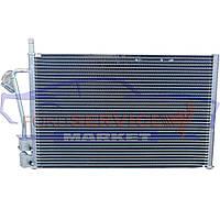 Радиатор кондиционера аналог для Ford Fiesta 6 c 02-08, Fiesta ST150 c 04-08, Fusion c 02-12 для всех типов