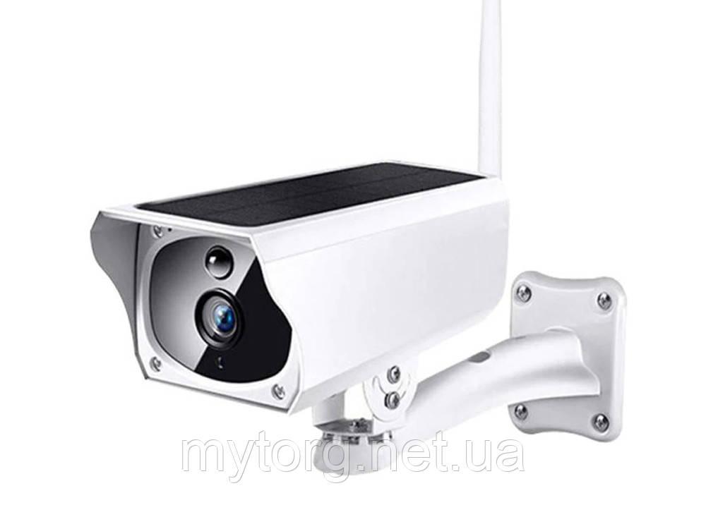 Камера WiFi на солнечной батарее 1080р IP66 С аккумулятором