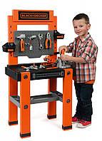 Дитяча Іграшкова Велика Майстерня Набір інструментів 79 предметів помаранчевий Black & Decker Smoby Смоби