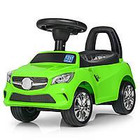 Дитяча каталка-толокар M 3147 C (MP3) -5, Mercedes, зелена