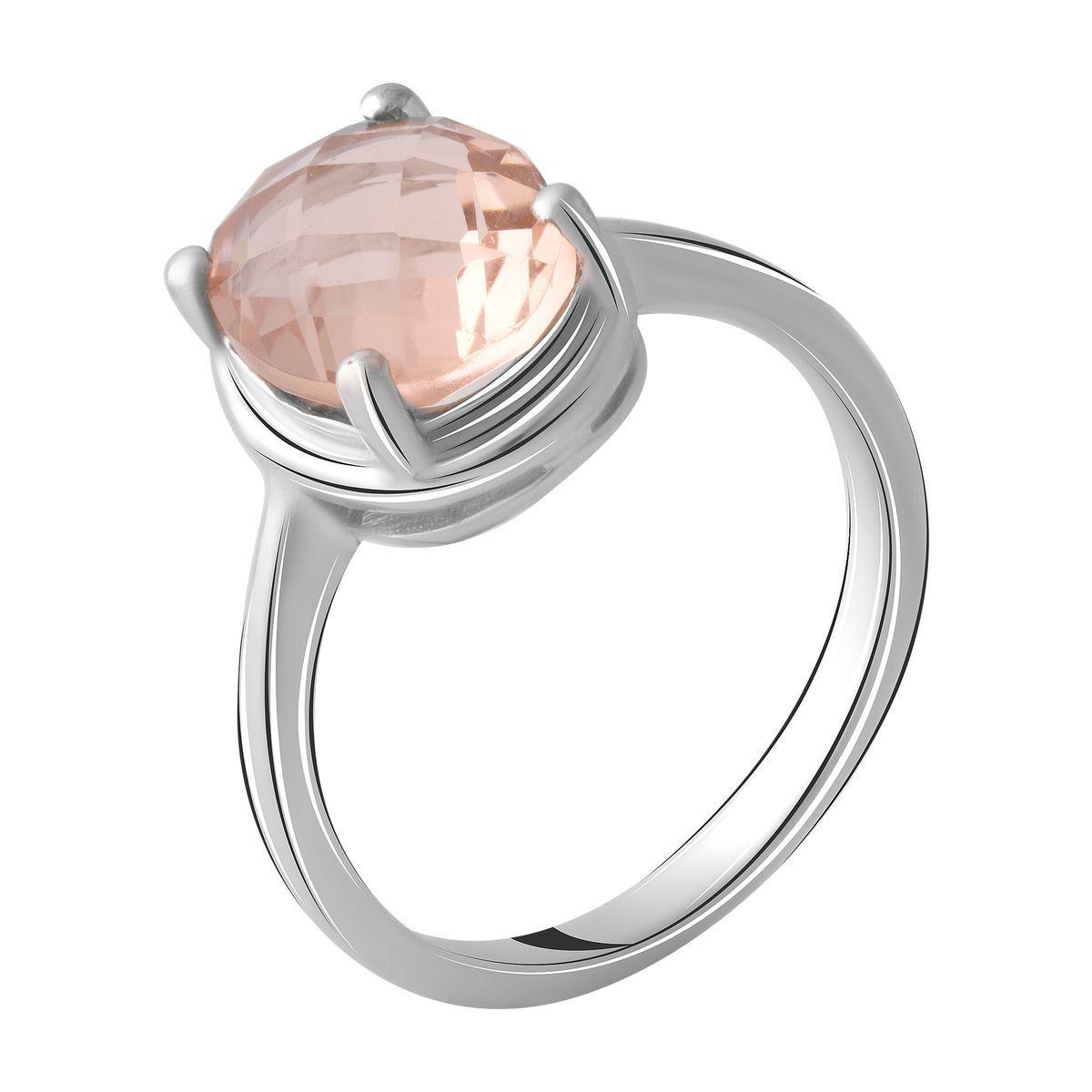 Серебряное кольцо DreamJewelry с морганитом nano 2.57ct (2045663) 18 размер