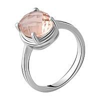 Серебряное кольцо DreamJewelry с морганитом nano 2.57ct (2045663) 18 размер, фото 1