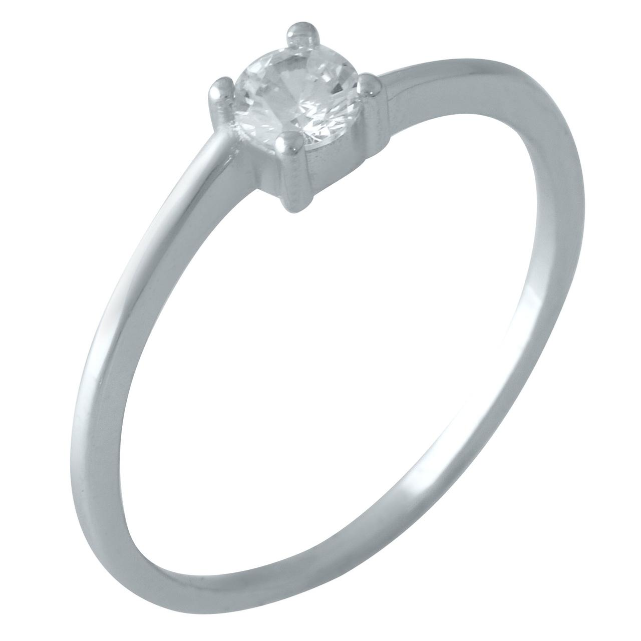 Серебряное кольцо DreamJewelry с фианитами (1920015) 18 размер