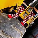 Носки высокие Friendly Socks с оптическим рисунком, фото 2