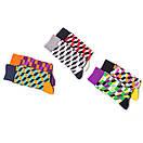 Носки высокие Friendly Socks с оптическим рисунком, фото 4