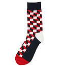 Носки высокие Friendly Socks с оптическим рисунком, фото 6