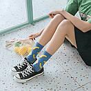 Носки Friendly Socks Bananas синие с желтыми пятками, фото 3