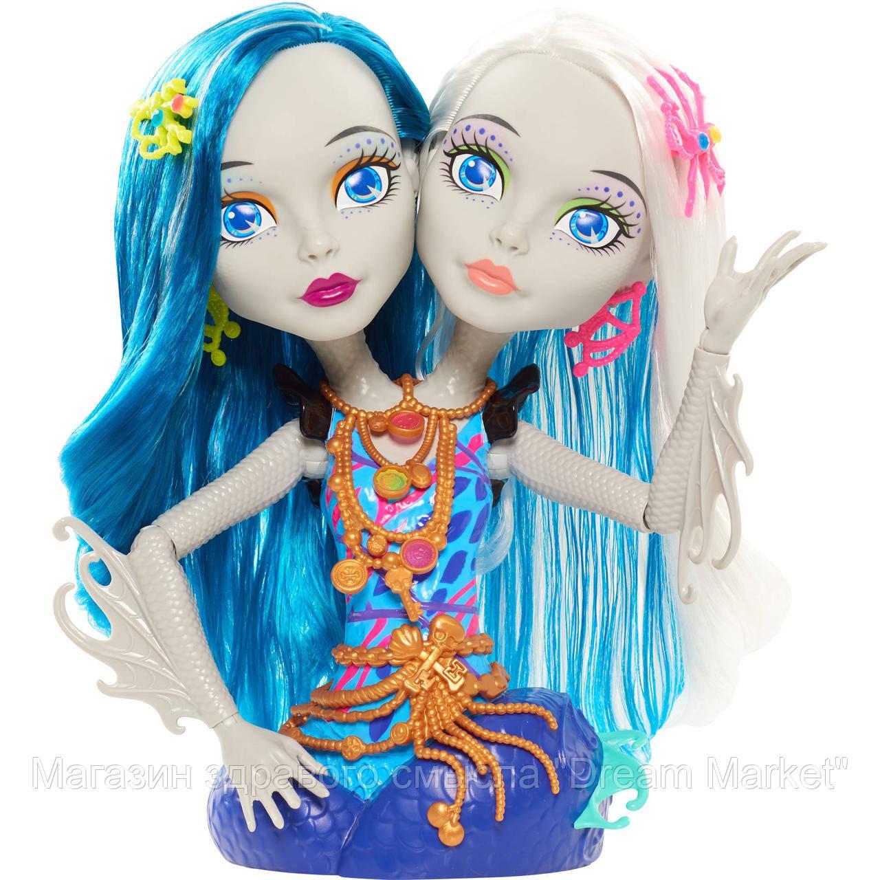 Кукольный игровой набор Монстер Хай Monster High Голова манекен Пери и перл для причёсок