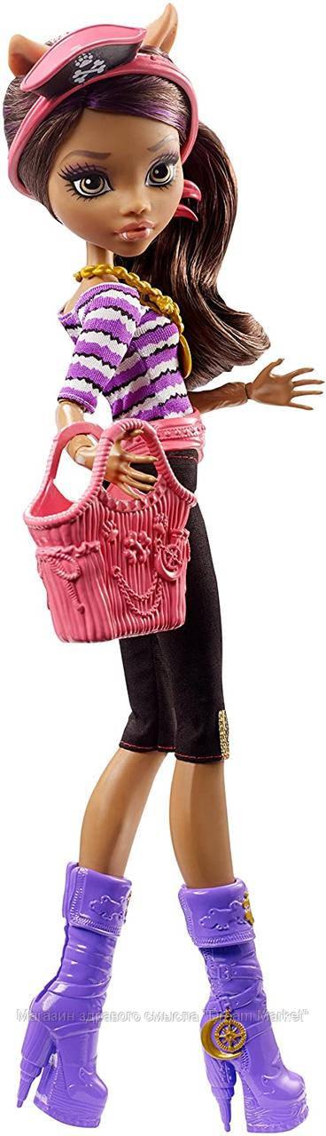 Кукла Монстер Хай Клодин Вульф серия Кораблекрушение, высота 43 см - Monster High Shriekwrecked Clawdeen Wolf