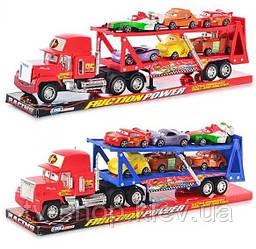 "Автовоз з машинками ""Тачки"", двоповерховий MT sport (48 см)"