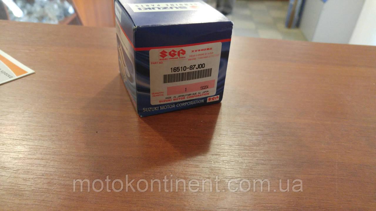 16510-87J01 Фильтр масляный для лодочного мотора Suzuki/Johnson/Evinrude DF25-70