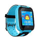 Детские смарт-часы UWatch F2 с GPS Blue, фото 3
