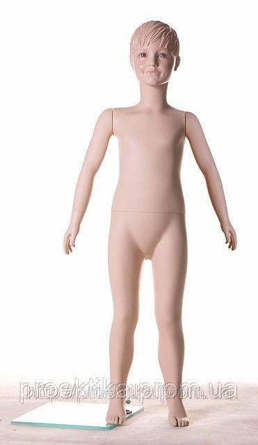 Манекен детский D5 телесный с макияжем