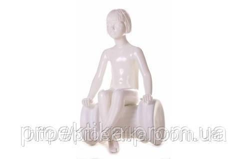 Манекен детский 61 KFS/005 (белый глянец)