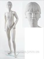 Манекен детский D7 (белый глянец)