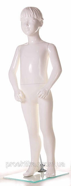Манекен детский VA-SG-07 (белый глянец)