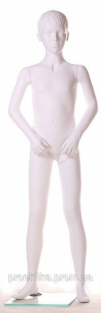 Манекен детский VA-SG-15 (белый глянец)