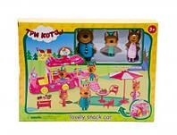 """Игровой набор """"Три кота: Фургончик с мороженым"""", три кота,мягкие игрушки,детские игрушки,набор"""