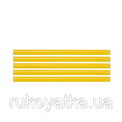 Клеевой Стержень(Желтый)Термоклей Для Клеевого(Термопистолета)11.2 х 200мм(5шт)YATO YT-82437
