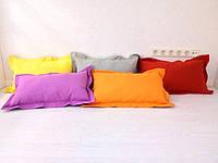 Подушка однотонная декоративная из ткани Турция