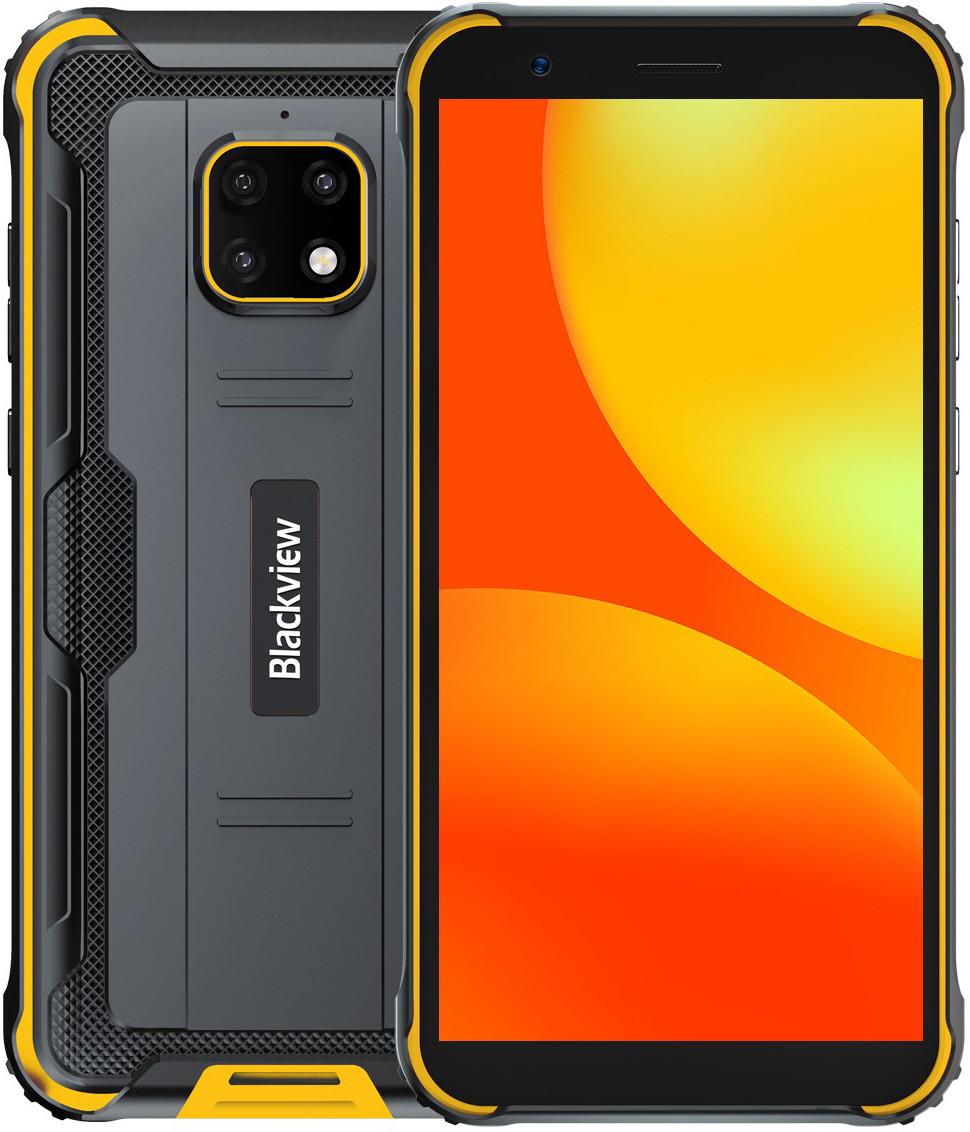 Blackview BV4900 Pro | Желтый | IP68 | 4/64 Гб | NFC | 4G/LTE | Гарантия