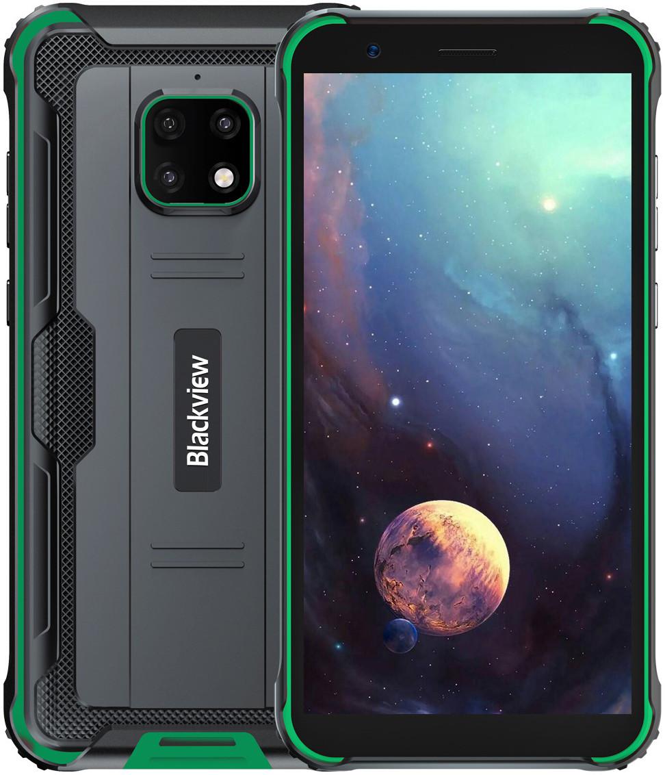 Blackview BV4900 Pro | Зелёный | IP68 | 4/64 Гб | NFC | 4G/LTE | Гарантия