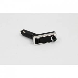 FM модулятор 601BT Bluetooth USB, AUX MicroSD трансмітер з пультом, (Оригінал)