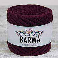 Трикотажная пряжа BARWA standart 7-9 мм цвет Баклажан