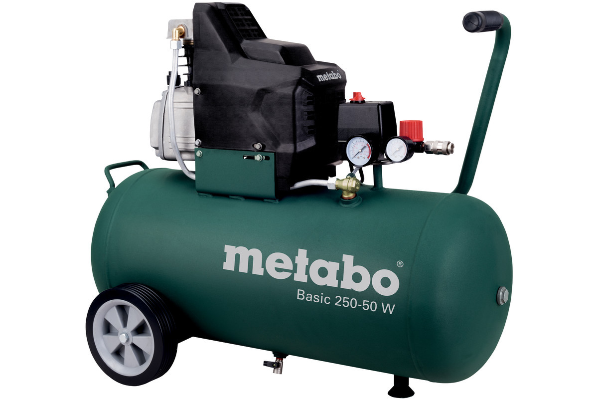 Компрессор Metabo Basic 250-50 W 2.8KW 250л/мин  50л