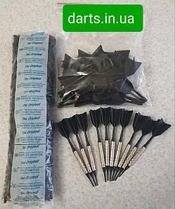Набор дротиков для игры в электронный дартс 10 штук, запасные оперения и наконечники