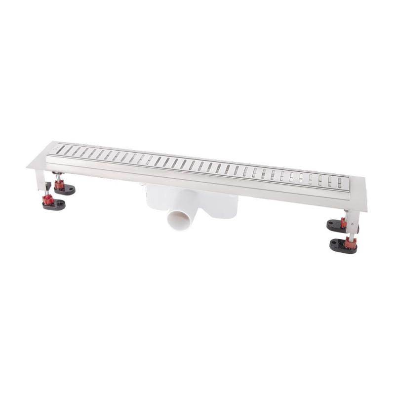 Линейный трап Q-tap с решеткой 600*660 CRM