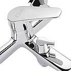 Набор смесителей для умывальника, ванны и душевая стойка Q-tap Set CRM 35-111, фото 5