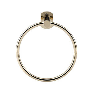 Кольцо для полотенца цвет золото Q-tap Liberty ORO 1160