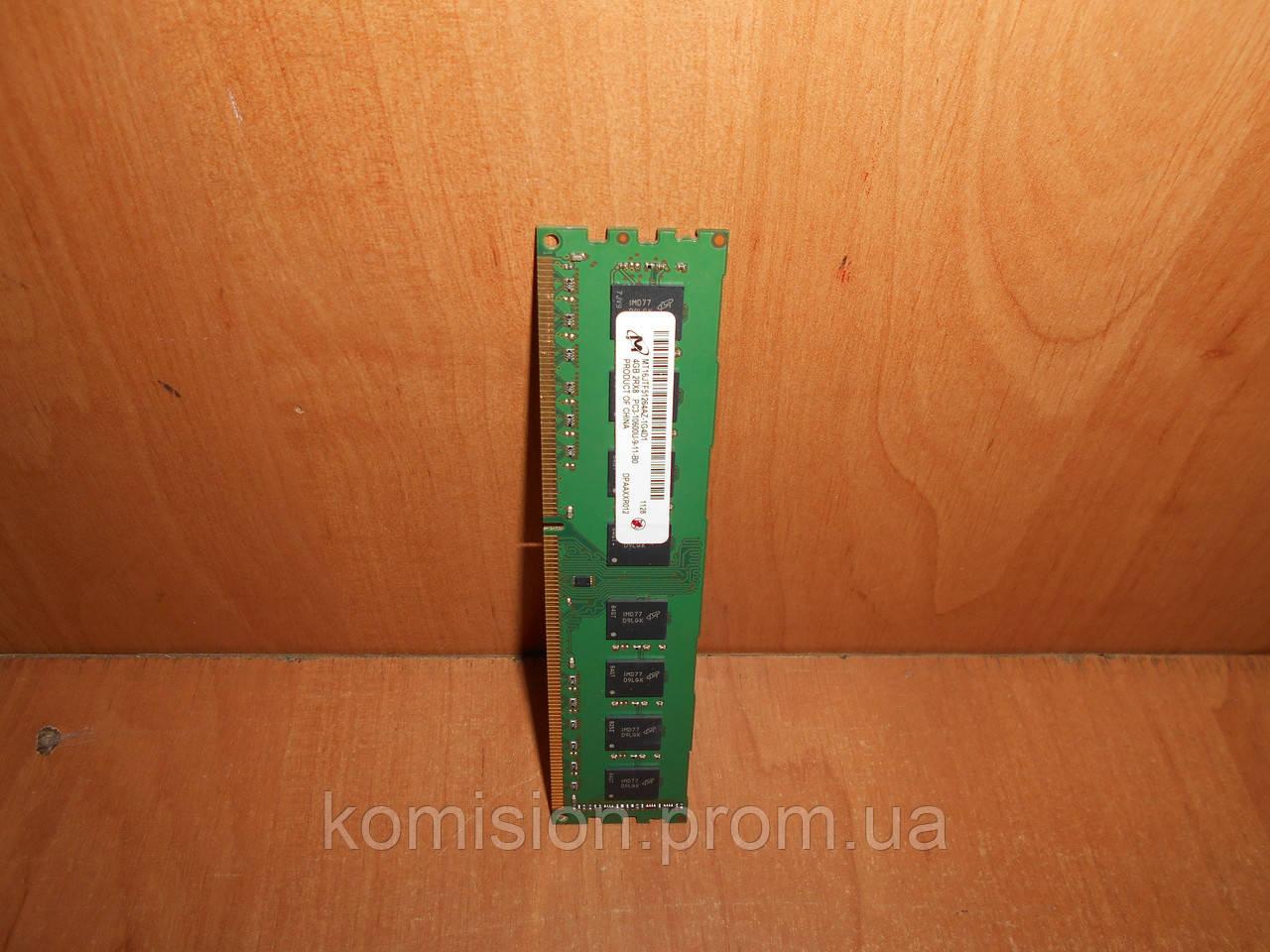Модуль памяти Micron DDR3 4 Gb для компьютера