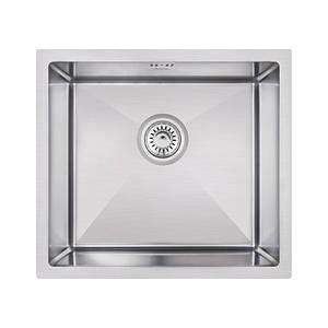 Мойка для кухни из нержавеющей стали врезная цвет матовый Imperial D4645 Handmade 3.0/1.2 mm