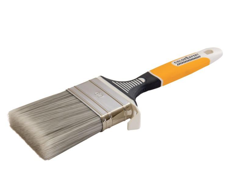 Кисть флейцевая COLOR EXPERT 81516002 UNISTAR 60мм*17мм щетина 63мм ручка 3К ерго для всіх видів лаків і эмал.