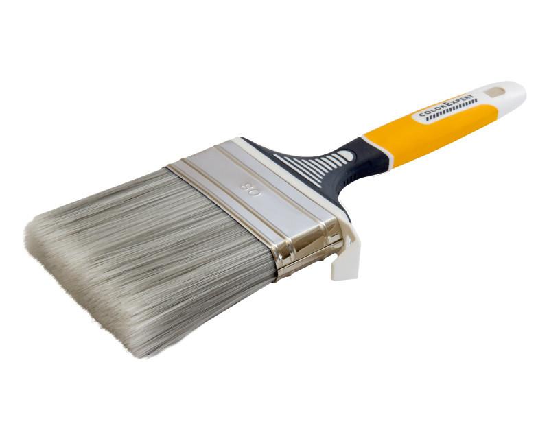 Кисть флейцевая COLOR EXPERT 81518002 UNISTAR 80мм*18мм щетина 69мм ручка 3К эрго для всех видов лаков и эмал.