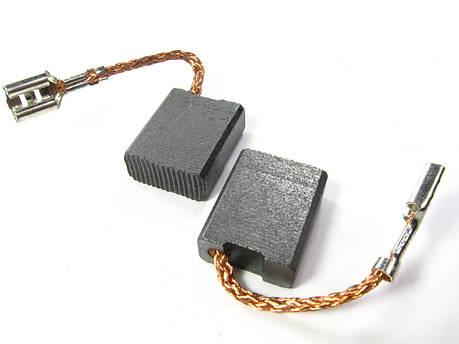 Щетки 7,5х16 мм шлифмашины угловой Dnipro-M GL-240, фото 2