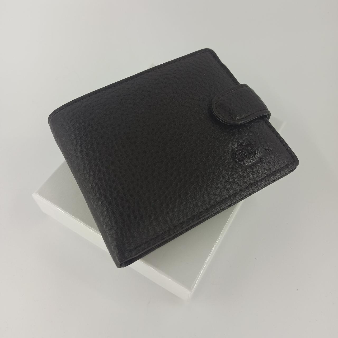 Мужской кошелек портмоне коричневый W53-208