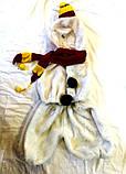 Карнавальный костюм  Снеговик 3-8 лет б/у, фото 2