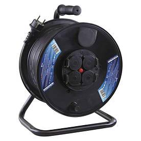 Удлинитель на катушке Emos P08250 50м 1,5 мм 3680W IP44 Черный