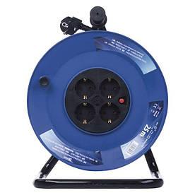 Удлинитель на катушке Emos P09225M 25м 2,5 мм 3600W резина Черный